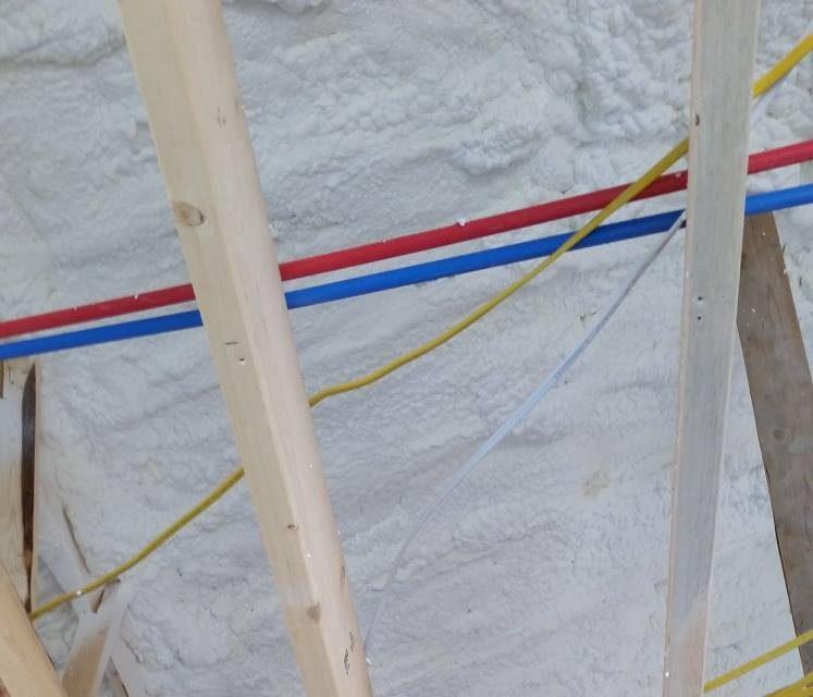 "6"" ATTIC ROOF Spray Foam Insulation Seminole"